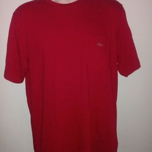 Greg Norman Tasso Ella Tee Sz M Red